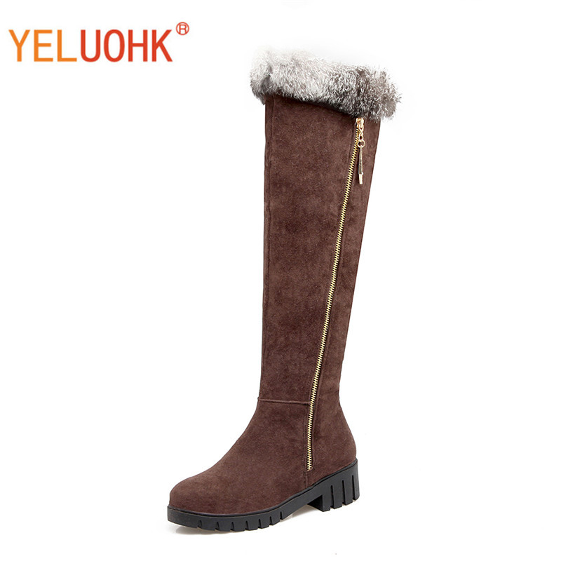 33-43 Women Winter High Boots Platform Winter High Boots For Women High Boots Female Winter Shoes Big Size<br>