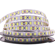 Super Bright 120leds/m SMD 5730 led strip 5630 Flexible light 5M 600 LED tape DC 12V non waterproof Led Ribbon Christmas lamp(China)