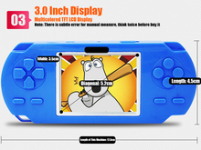 Wholesale Game Consoles For Kids 3.0 inch Color Screen CoolBaby Handheld Game Console With168 Games Children Games Toys juegos