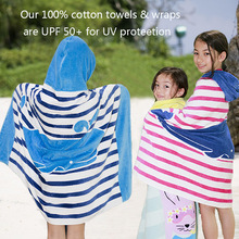 Cotton Summer Children's Beach Towel&Wrap Cartoon Printed Absorbent Cotton Bath Towel For Children Cartoon Towel Toallas Playa