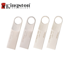 Kingston DTSE9G2 USB 3.0 Metal Flash Pen Drive 128GB 64GB 32GB 16GB USB Flash Drive Pendrive External Storage Memory Stick