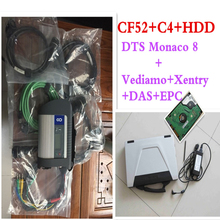 Newest MB STAR C4+laptop CF52+HDD 2017.09 DTS+Monaco 8+Vediamo+Xentry+DAS+EPC Complete Diagnostic Tools For Mercedes Star DHL(China)