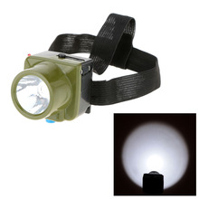 Mini LED Headlight  Fishing Light Outdoor Lighting LED Camping Headlamp Mining Light Water Resistant 3 Modes High Quality