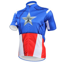 Bike jerseys Cycling equipment Cycling jerseys New Men's Cycling Jersey Comfortable Bike/Bicycle Motorcycle Apparels Captain Com(China)