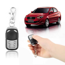 Hotsale Remote Control Fob 433mhz Key Fob Universal for Worldwide Gate Garage Electric Cloning Door 433MHz Fixed Code Key Fobs(China)