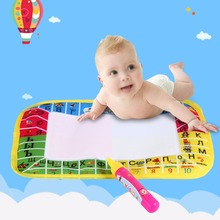 2Sizes Painting Mat Water Painting Draw Writing Mat Kid Aquadoodle Russian Language Doodle Board With Pen