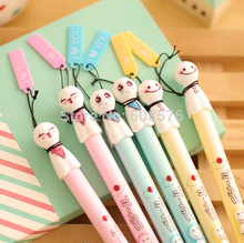12 pcs/Lot Sunny doll gel pen writing kawaii pen stationery papelaria school canetas escolar Office Writing supply