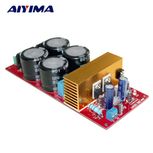 Aiyima New Design Assembled IRS2092 Mono Class D Audio Power Amplifier Board with Dual Rectification