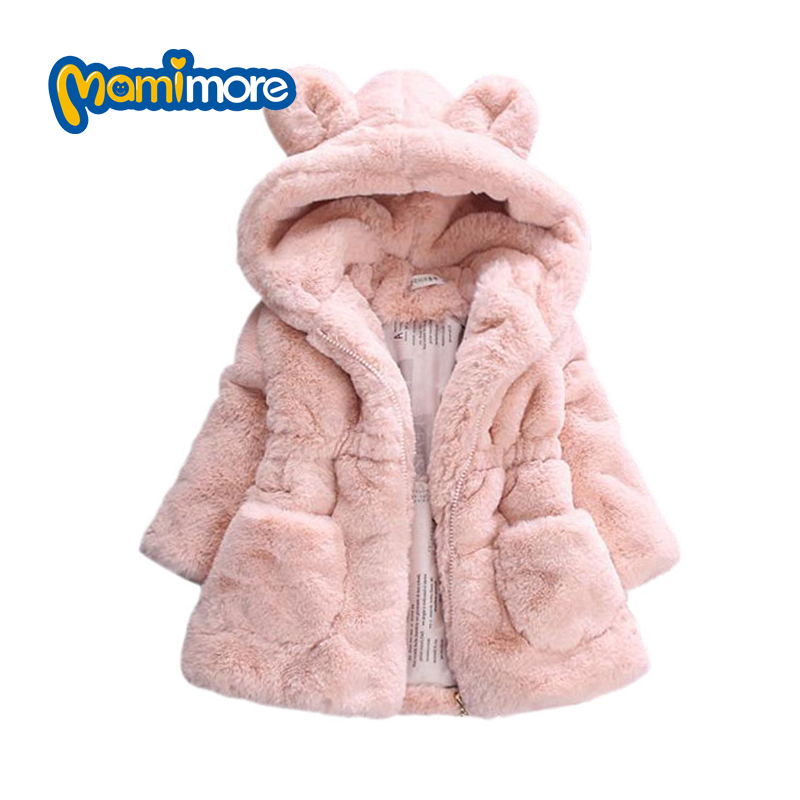 Mamimore Winter Baby Girl Fur Jacket Coat 2017 Party Kids Clothes Warm Jacket Coat For Girl Snowsuit Outerwear Children ClothingОдежда и ак�е��уары<br><br><br>Aliexpress