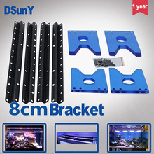 led aquarium light 8cm/18cm bracket with blue or white color for reef coral , marine fish , fresh water tank