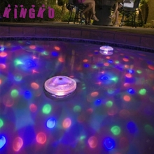 Kingko Underwater Light Floating Underwater LED Disco Light Glow Show Swimming Pool Hot Tub Spa Lamp L61220 drop ship(China)
