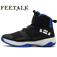 Feetalk  Men's Women's Basketball Shoes Sneaker PU Breathable outdoor Athletic Sport boots Sneakers For Male Basketball Shoes
