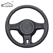 Steering wheel braid for Volkswagen Golf 6 Mk6 VW Polo MK5 2010-2013/Custom made Steering cover
