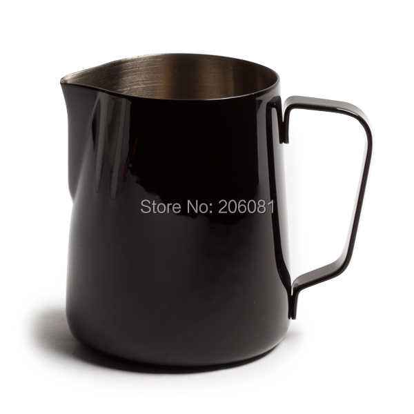 600MLProfessional stainless steel milk jar/ Milk Foaming Jug/Luxe coat lattte art stainless steel pitcher  with high quality<br>