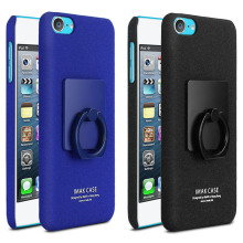 For Apple ipod Touch 6 Case Original IMAK Frosted Matte PC Plastic Case Cover With Ring holder Free Screen Protector
