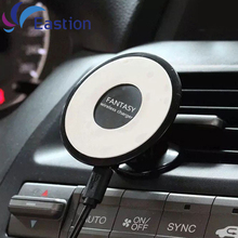 QI Wireless Car Charger for Samsung Galaxy S6 S7 Edge Universal Disk Stand Holder Device Phone Charging For iPhone 6 7 Eastion
