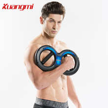 Kuangmi free shipping Powerball 5kg-20kg 8 Shape Power Wrists Power Of Arm Wrist Forearm Strength Force Exerciser with Springs