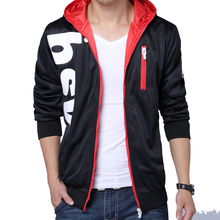fashion men hoodies coat outwear slim fit sweatshirts moleton masculino M-5XL CYG96 - Shopping In China store