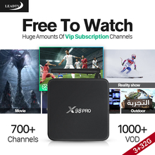 Dalletektv Smart android 6.0 tv box 3g ram IPTV Box 700+ Live IPTV Subscription 1 Year IPTV Account HD Arabic IPTV Europe Code