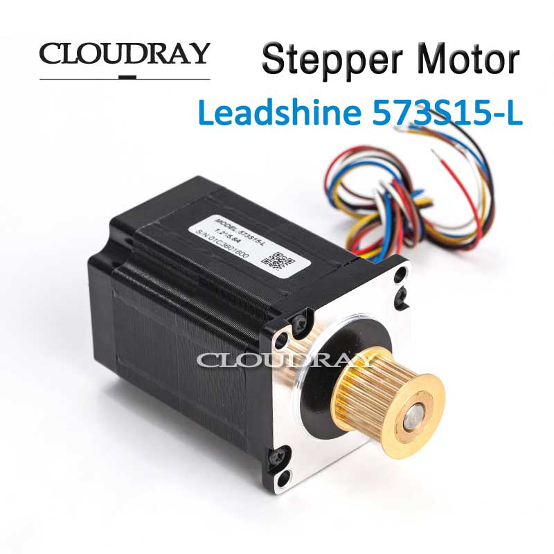 Cloudray Nema 23 Stepper Motor Paso A Paso 3 Phase Step Motor Stepping Hybrid 24 Teeth 3M Timing Pulley For CO2 Laser Engraving <br>