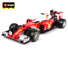 Brand New Bburago 1:43 SF16-H Sebastian Vettel NO.5 NO.7 F1 Formula One Racing Diecast Model Car Toy New In Box Free Shipping