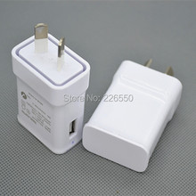 100pcs/lot For Australia New Zealand 2A AU Plug USB AC Power wall home charger for Samsung Galaxy Note N7100 S3 S4 S5