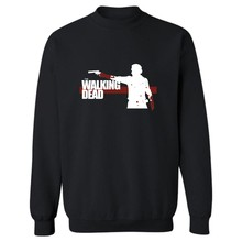 The Walking Dead Zombies Punk Sweatshirt Sweatshirt Men Sweatshirt Winter High Quality Clothers Sweatshirt Men Hip Hop Plus Size(China)