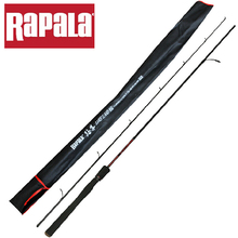 Rapala Brand High Quality Lure Land 1.98M 2.1M  2 Segments Finland Tech Spinning Fishing Rod Carbon Lure Fishing Pole Stick