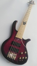 5 string bass guitar with active pickup(China)