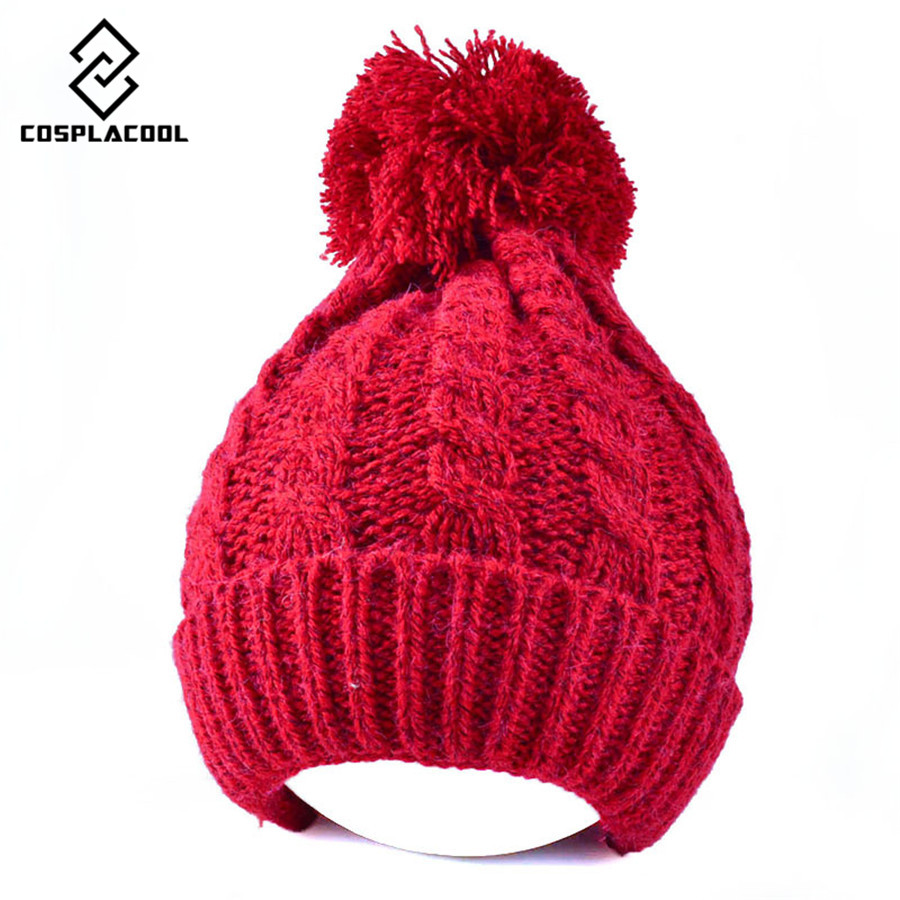 [COSPLACOOL] Autumn and winter melange knitting hat sets warm hat mens and womens joker knitted capÎäåæäà è àêñåññóàðû<br><br><br>Aliexpress