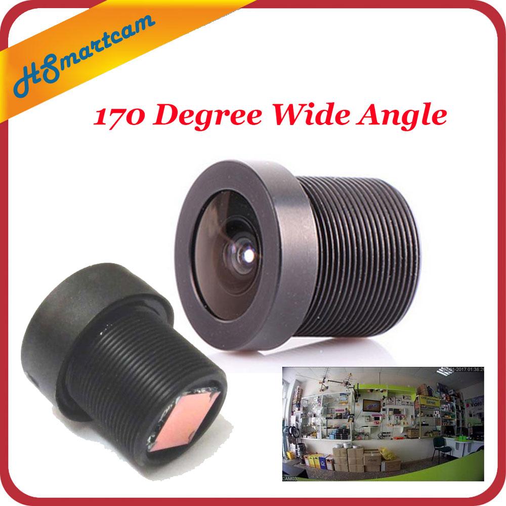 M12 1.8mm 5MP CCTV camera lens MINI Fisheye 180°wide angle for CCTV Security