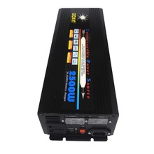 2500W DC12V or DC24V input to AC 220V 230V output modified wave Power Inverter +battery Charger & UPS,Quiet & Fast Charge