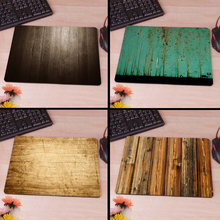 Wooden Floor Computer Mouse Pad Mousepads Radiation  Non-Skid Rubber Pad
