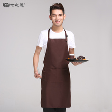 New Men Apron Home Furnishing Waterproof Kitchen Apron Long Style Restaurant Cafe Work Cook Chef Adult Bibs Funny Apron(Custom)