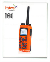 User-friendly Analog/digital Dual Mode 136-174 MHZ 400-470 MHZ cb radio china PD880L professional forest walkie talkie(China)