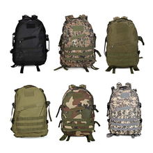 Outdoor Backpack Sport Military Tactical Climbing Mountaineering Backpack Camping Hiking Trekking Rucksack Travel Outdoor Bag