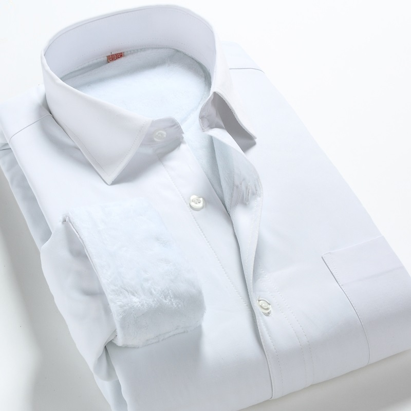 Online Buy Wholesale men thick cotton white shirt from China men ...