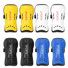 Buy New Ultralight Soft Football Shin Pads Outdoor Soccer Guards Sports Leg Protector Kids Children Protective Kneepad Sports Safety for $1.72 in AliExpress store