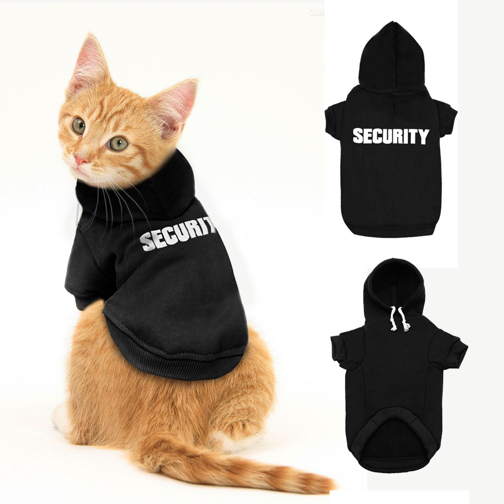 Fashion Cat Clothes Cat Kitten Coat Jacket Pet Hoodie For Small Cats Dogs Pet Clothes Rabbit Costume Sweater for Chihuahua Pug