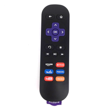 (20 PCS/lot) New Generic For Roku 1 2 3 4 LT HD XD XS IR Replace Remote Control W Youtube Key Free Shipping