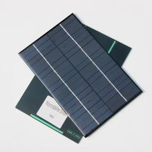 BUHESHUI  4.2Watt 18V Mini Solar Cell Polycrystalline Solar Panel DIY Solar System For 12V Battery Charger 200x130x3MM NEW