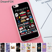 Buy DREAMFOX K102 Friends Tv Show Soft TPU Silicone Case Cover Apple iPhone 8 X 7 6 6S Plus 5 5S SE 5C 4 4S for $1.23 in AliExpress store