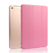 For Apple iPad air 2 Solid PU Leather Cover Case Tablet Personal Computer Shockproof ipad 6 protect case Fashion