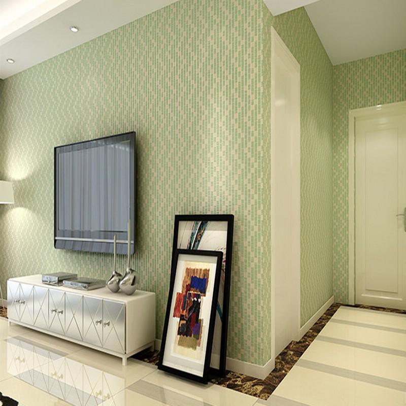 Free Shipping Modern lattice mosaic wallpaper plain nonwovens wallpaper bedroom living room TV background wallpaper<br>
