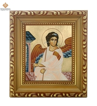 Factory outlets Photo frame Russian Church supplies Icon of the Holy Guardian Angel wood craft Christian image religious icon