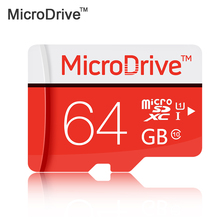 100% Real capacity card MicroDrive Micro SD cards class 6 class10 TF card SDHC 64gb 32GB 16GB 8GB Memory Cards with retail box
