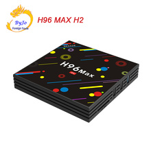 Buy Android 7.1 smart TV box H96 MAX H2 Rockchip RK3328 Quad-core 4GB RAM 32 ROM Support H.265 UHD BT 4K 5G WiFi Set-top box for $64.09 in AliExpress store