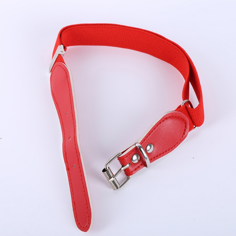 Kids Children Boys Girls Wide Elastic Stretch Waist Belt Waistband Alloy Buckle S72 Back To Search Resultsapparel Accessories