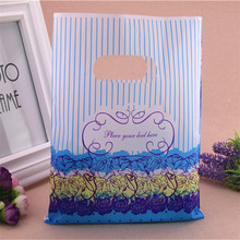 2016 New Design Wholesale 100pcs/lot 20*25cm Luxury Princess Present Gift Bags Plastic Packaging Bags