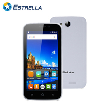 "Blackview A5 4.5"" QHD Display Android 6.0 Cellphone MTK6580 Quad Core 1G RAM 8G ROM Mobile Phone 3G WCDMA 2000mAh Smartphone"